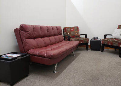 Couch in Lounge